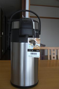 タイガー魔法瓶4Lステンレスエアーポット 「とら~ず」maa-b400